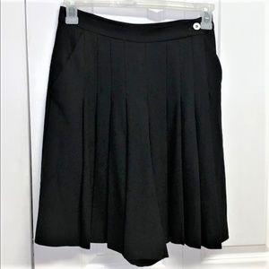 Dana Buchman Shorts Size 10 Wide Leg Black